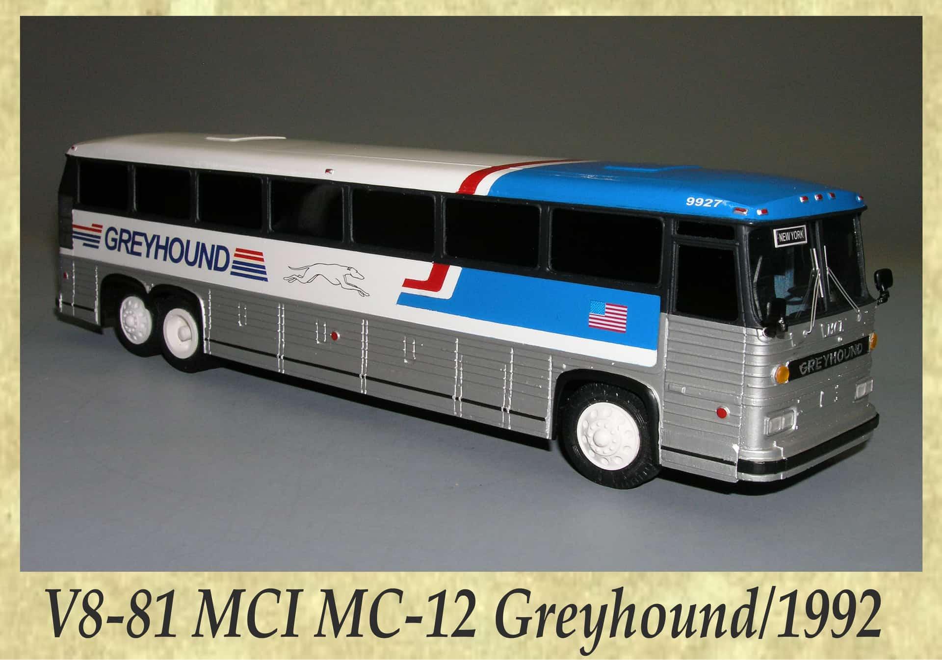 V8-81 MCI MC-12 Greyhound 1992