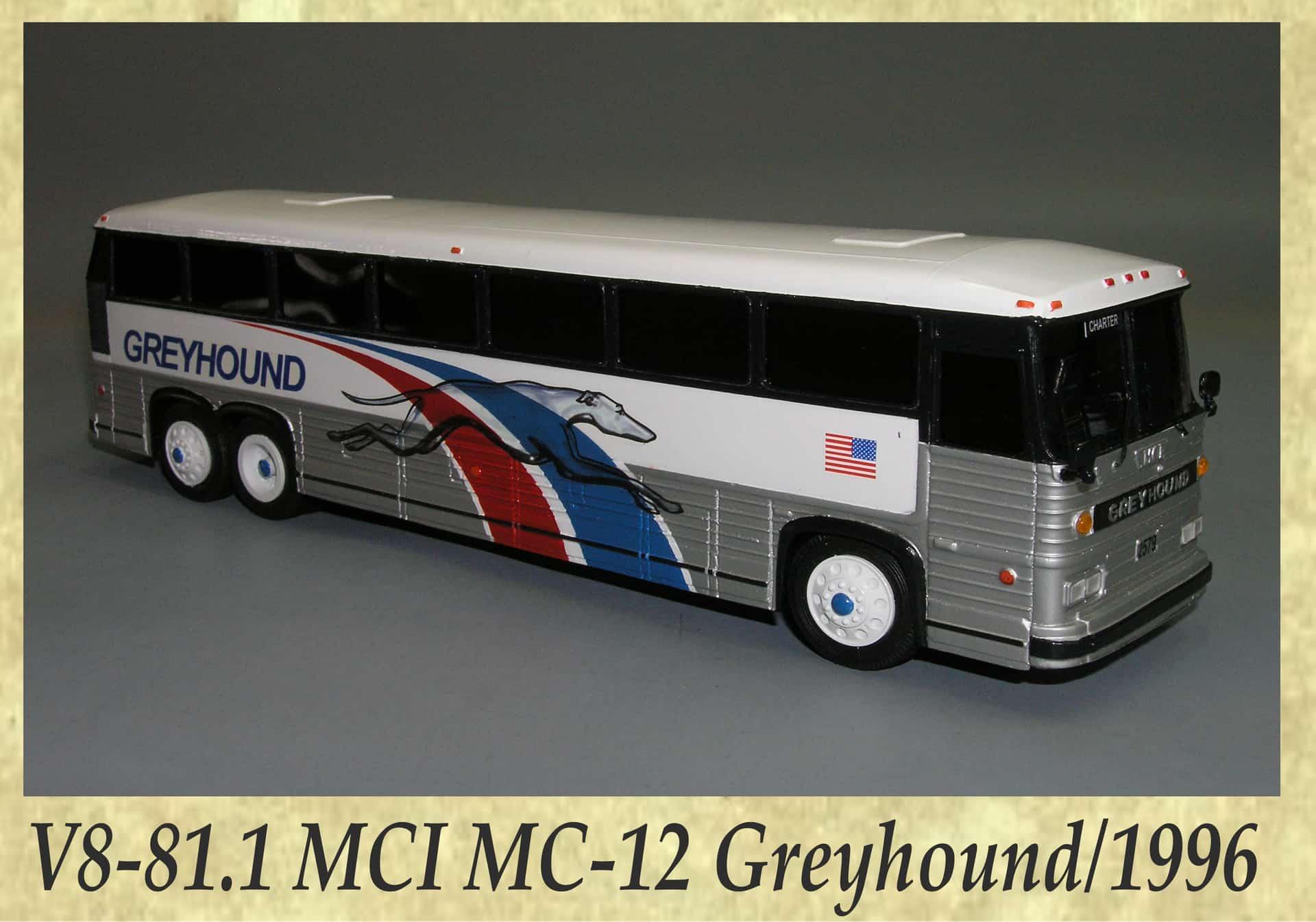 V8-81.1 MCI MC-12 Greyhound 1996