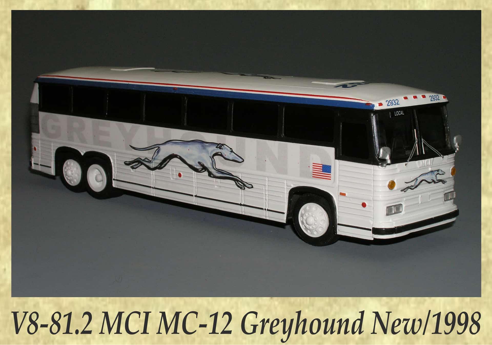 V8-81.2 MCI MC-12 Greyhound New 1998