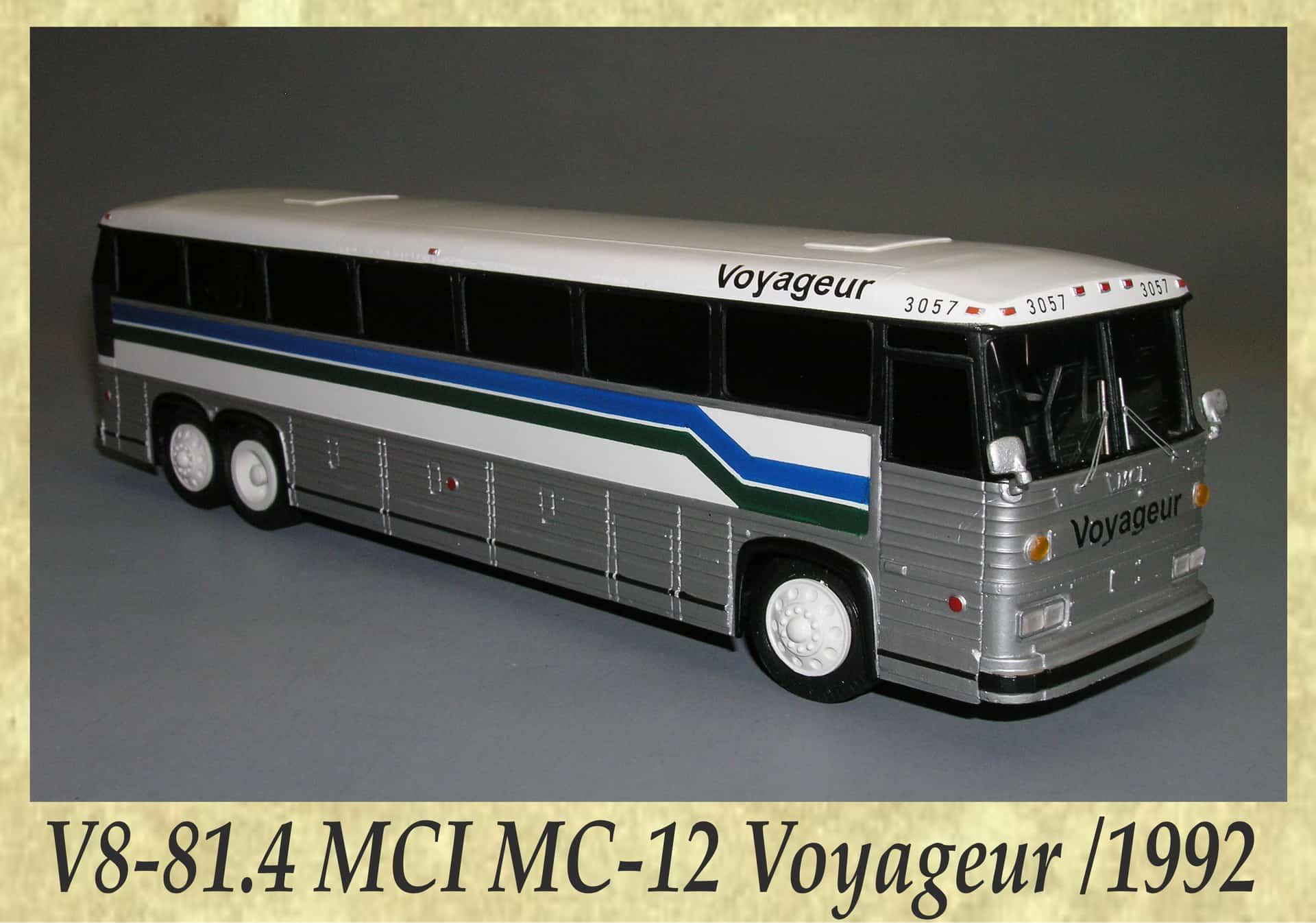 V8-81.4 MCI MC-12 Voyageur 1992