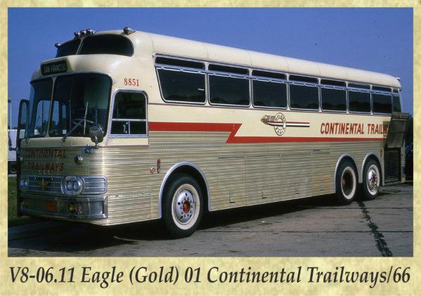 V8-06.11) Eagle (Gold) 01 Continental Trailways_66
