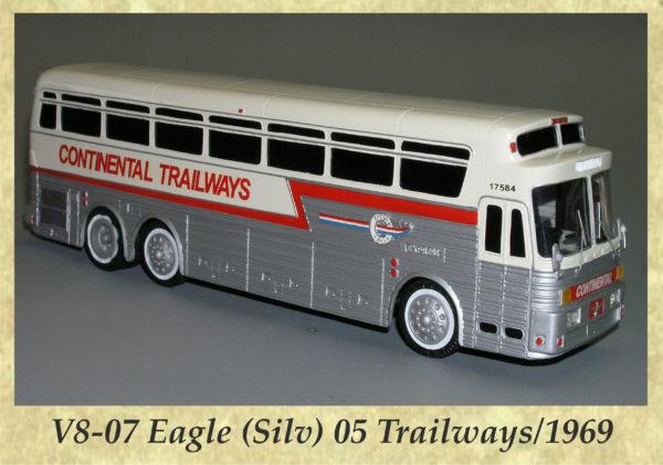 V8-07 Eagle (Silv) 05 Trailways 1969