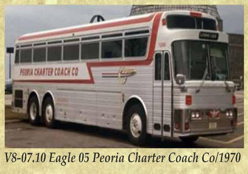 V8-07.10 Eagle 05 Peoria Charter Coach Co 1970