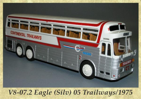 V8-07.2 Eagle (Silv) 05 Trailways 1975