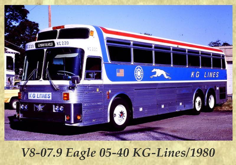 V8-07.9 Eagle 05-40 KG-Lines 1980