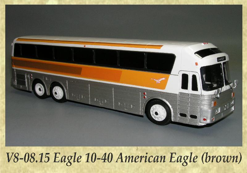 V8-08.15 Eagle 10-40 American Eagle (brown)