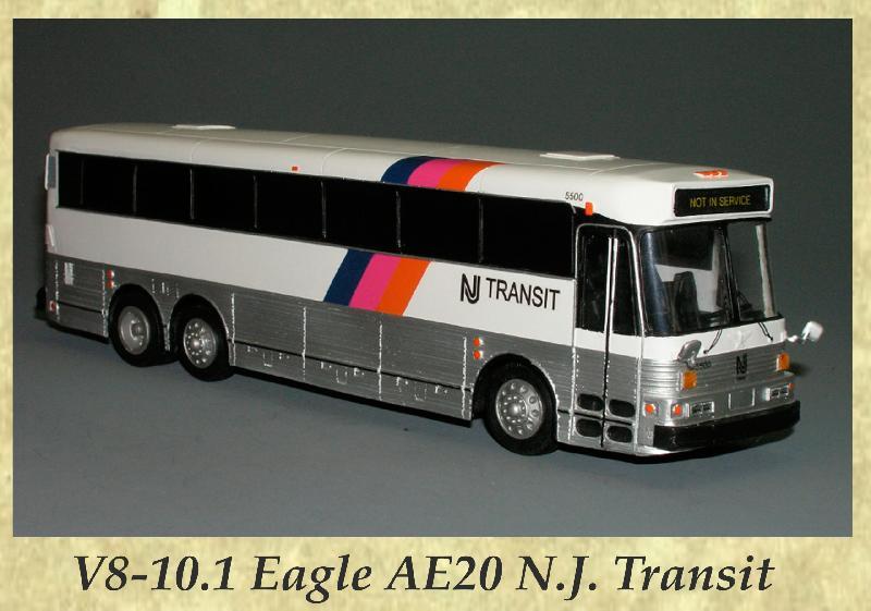 V8-10.1 Eagle AE20 N.J. Transit