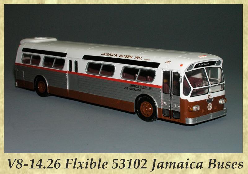 V8-14.26 Flxible 53102 Jamaica Buses