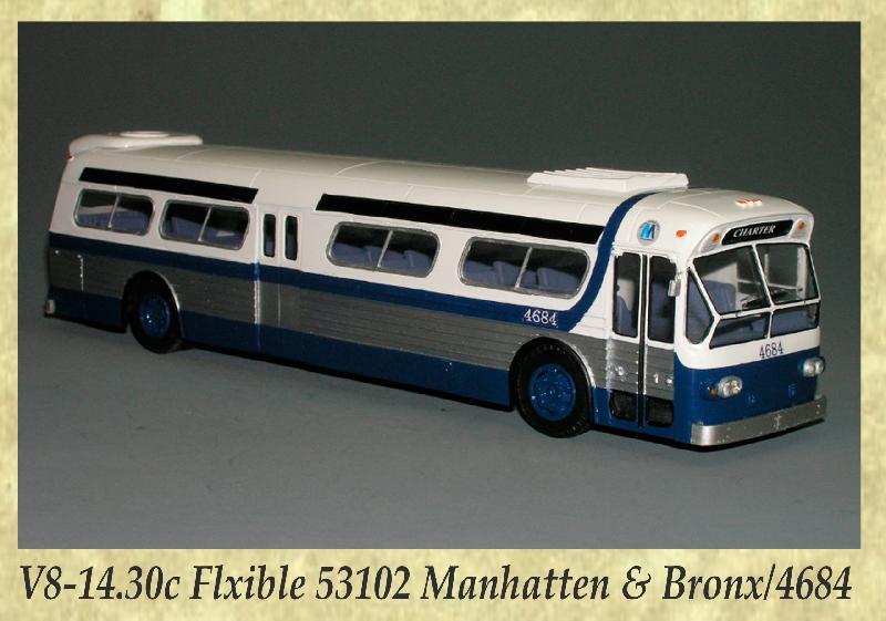 V8-14.30c Flxible 53102 Manhatten & Bronx, 4684