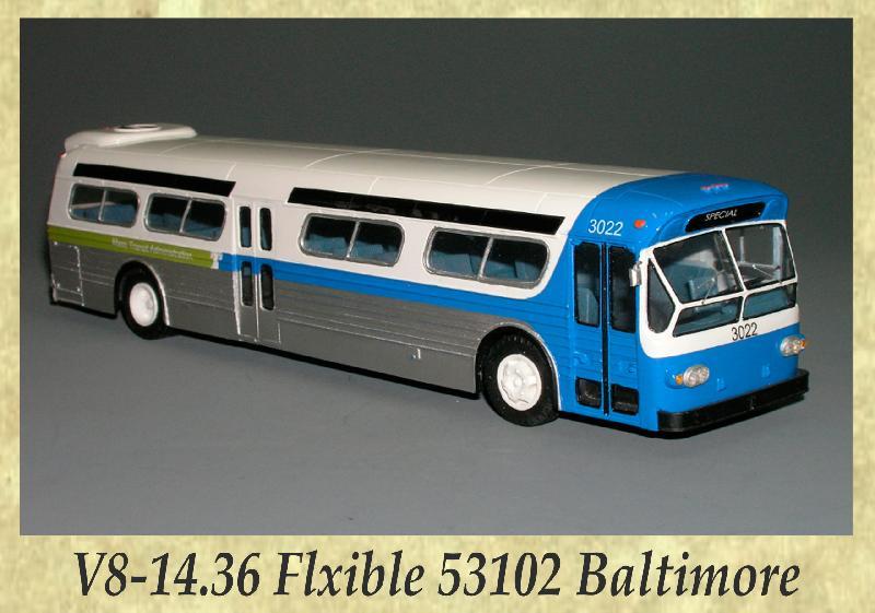 V8-14.36 Flxible 53102 Baltimore