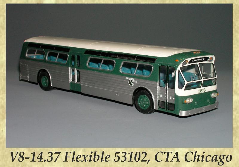 V8-14.37 Flexible 53102, CTA Chicago