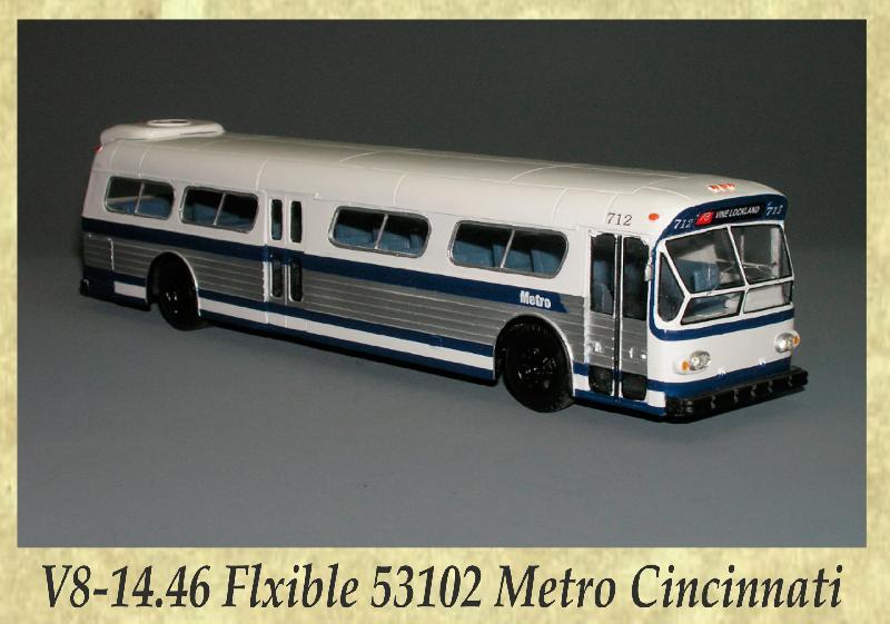 V8-14.46 Flxible 53102 Metro Cincinnati