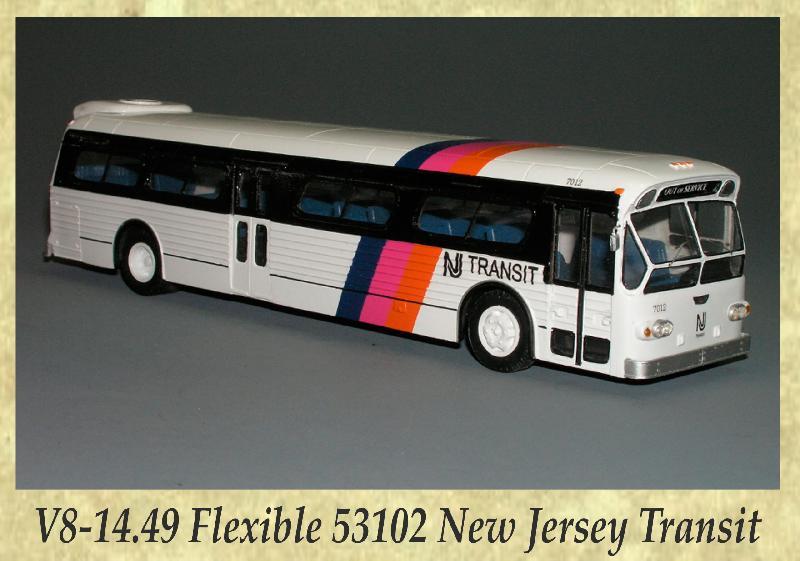 V8-14.49 Flexible 53102 New Jersey Transit
