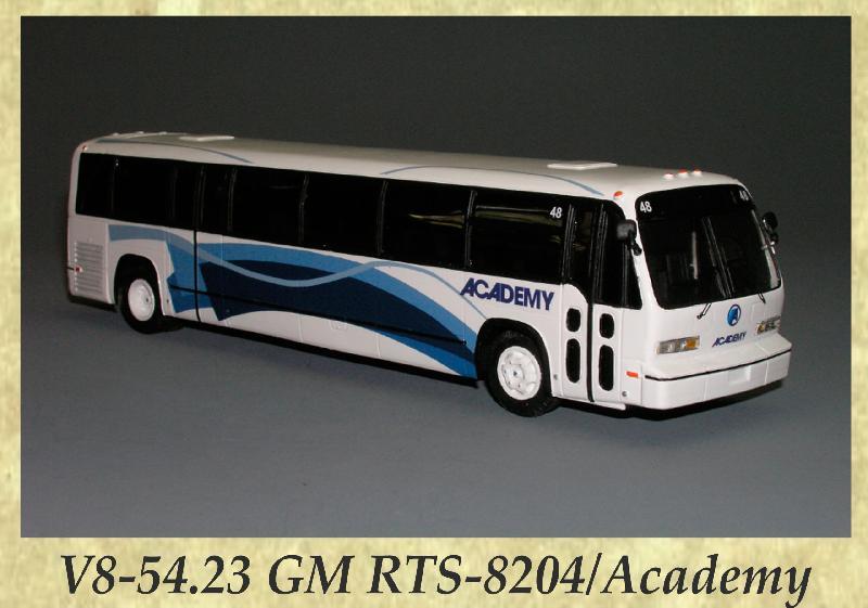 V8-54.23 GM RTS-8204, Academy