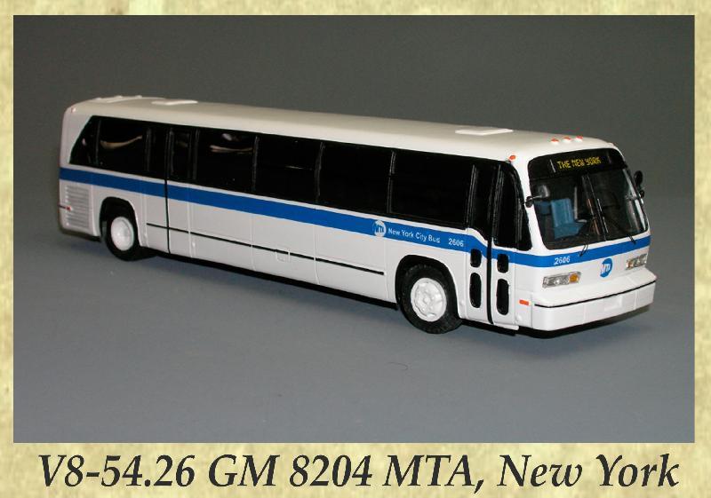 V8-54.26 GM 8204 MTA, New York