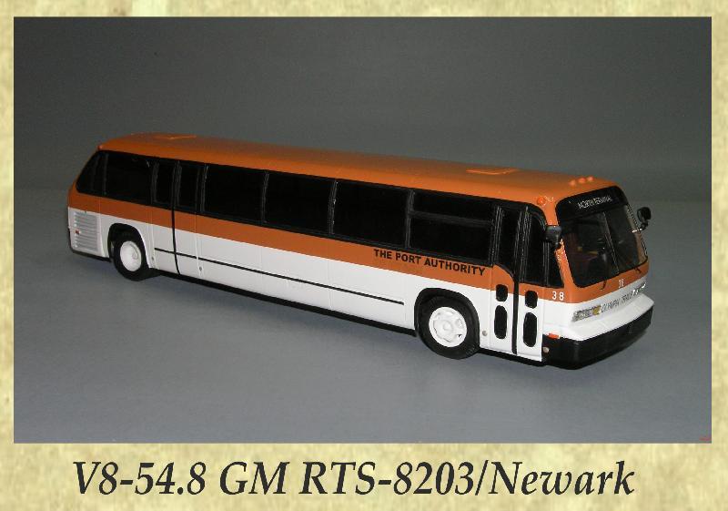 V8-54.8 GM RTS-8203, Newark