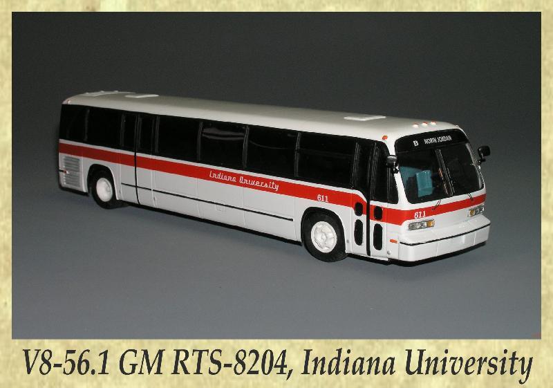 V8-56.1 GM RTS-8204, Indiana University