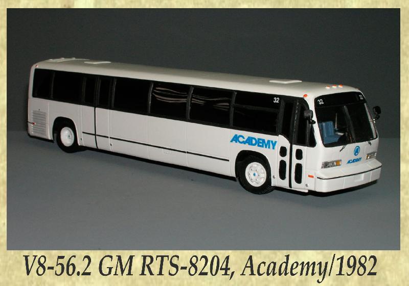 V8-56.2 GM RTS-8204, Academy 1982