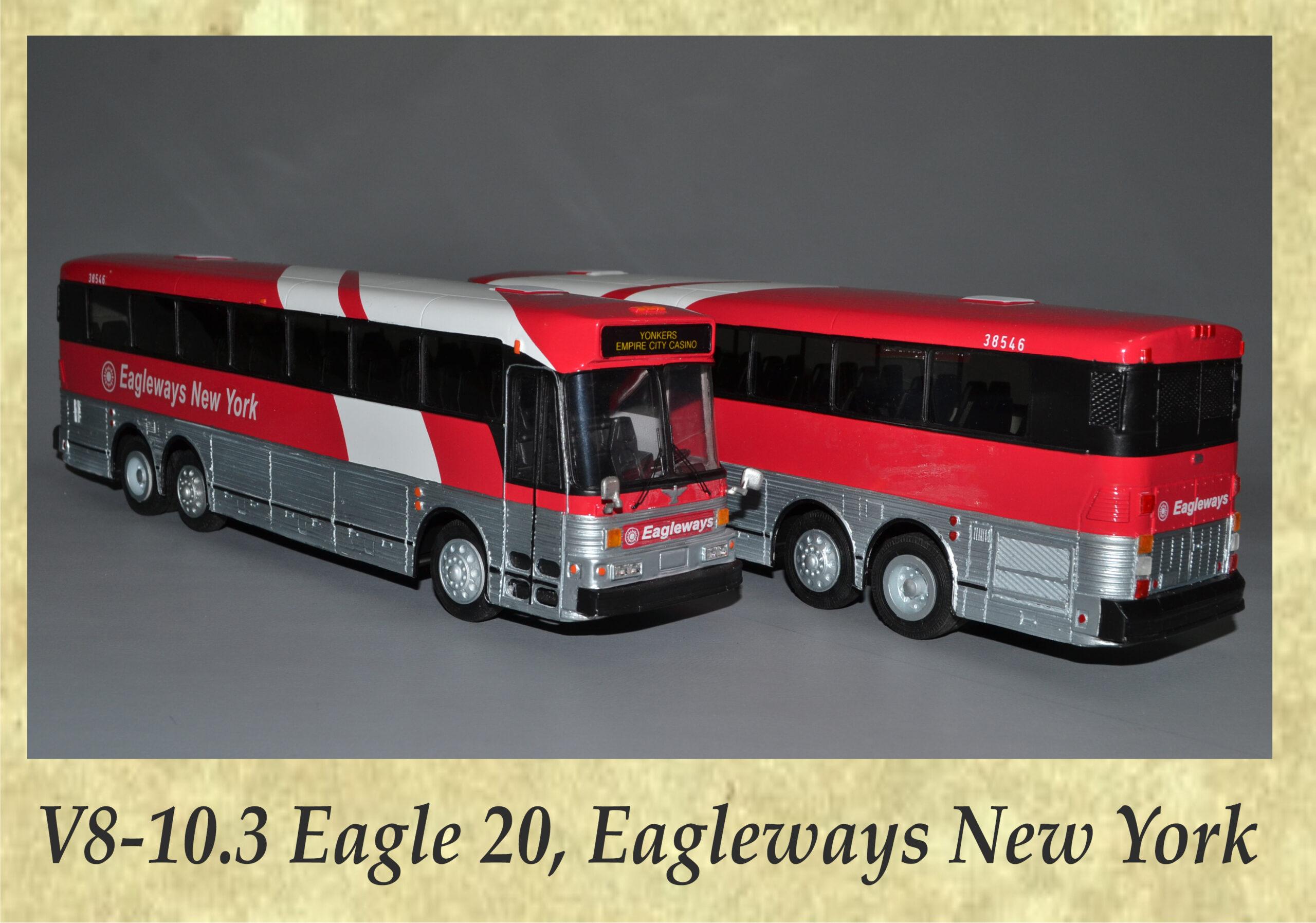 V8-10.3 Eagle 20, Eagleways New York