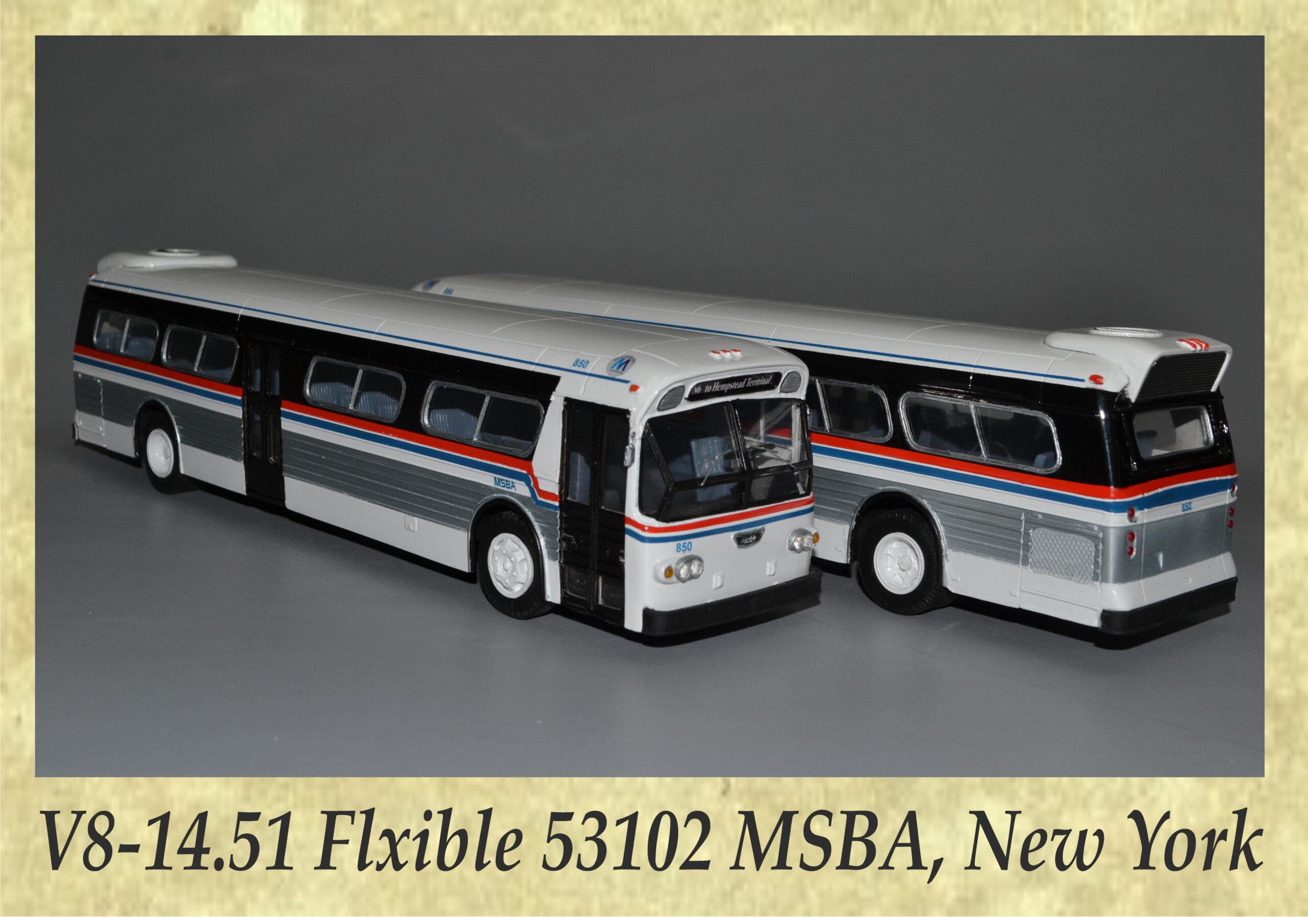 V8-14.51 Flxible 53102 MSBA, New York