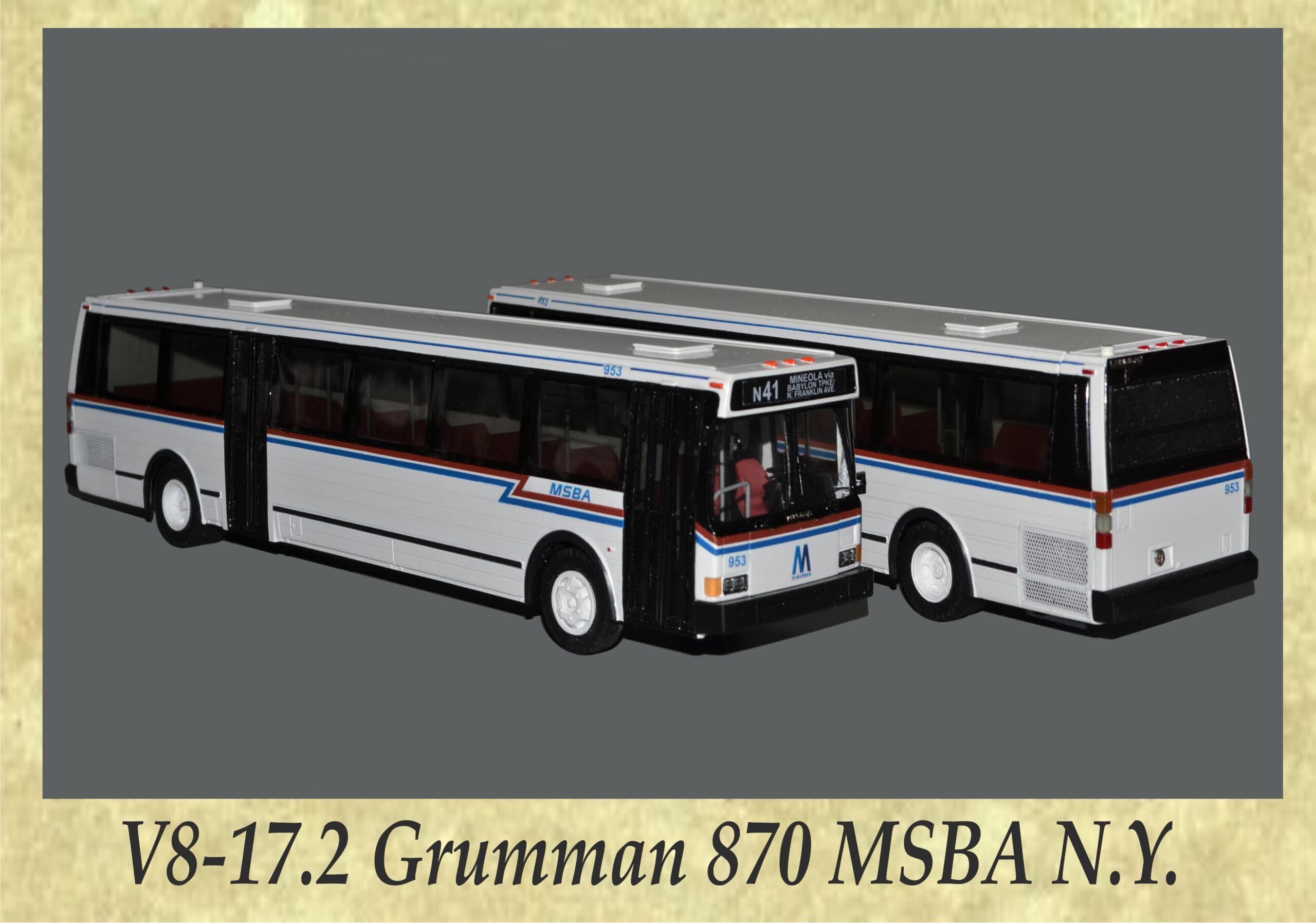 V8-17.2 Grumman 870 MSBA N.Y.