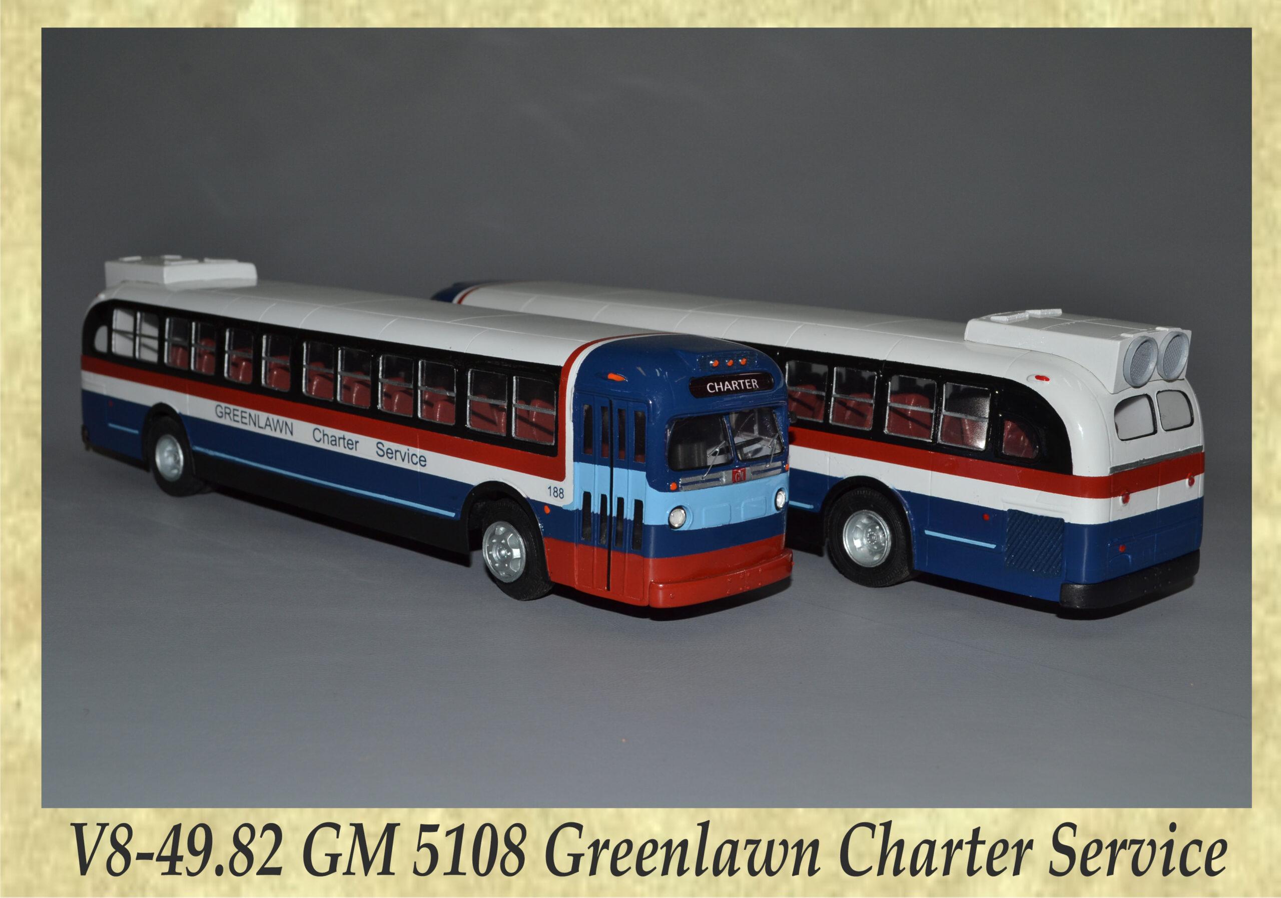 V8-49.82 GM 5108 Greenlawn Charter Service