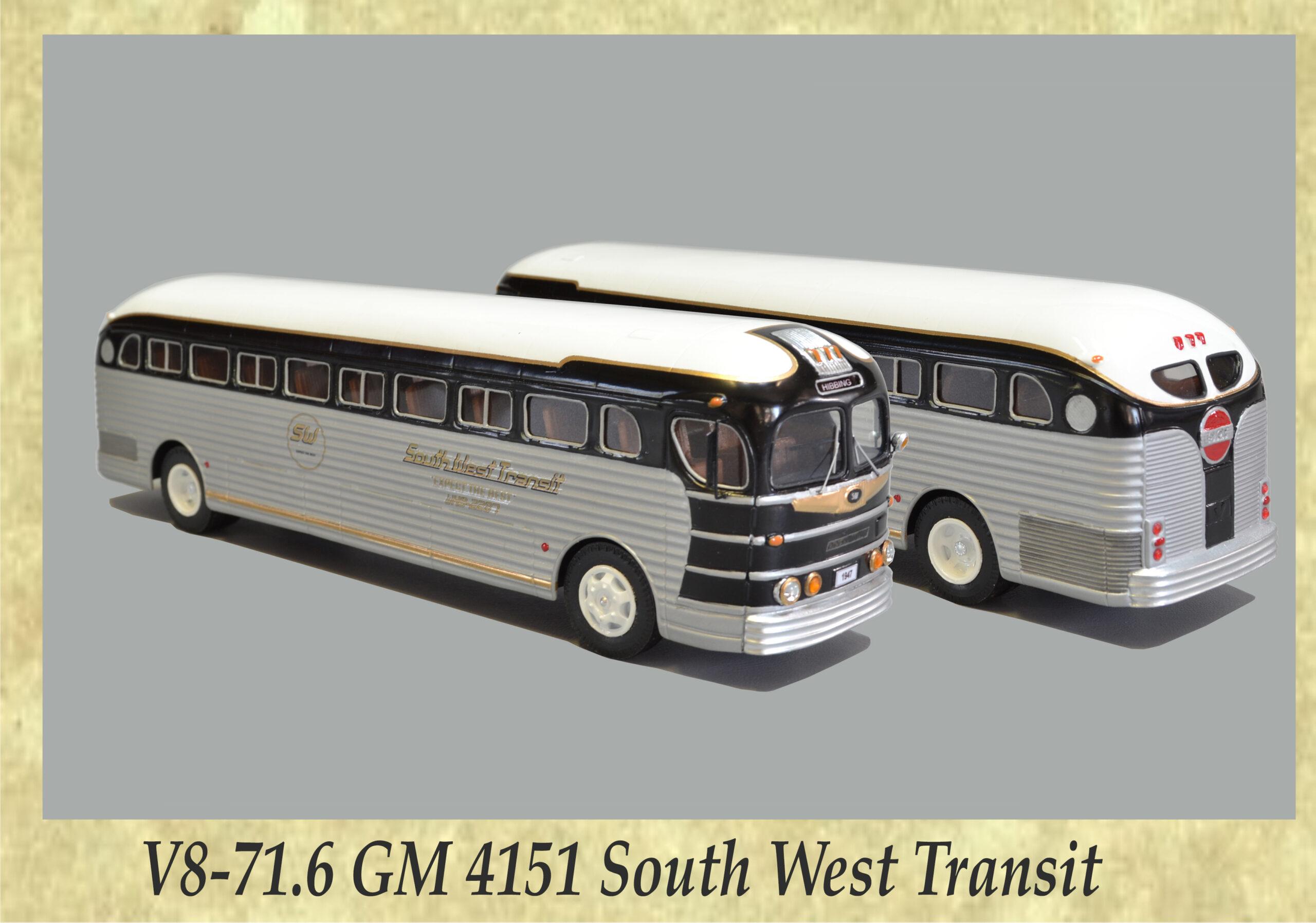 V8-71.6 GM 4151 South West Transit