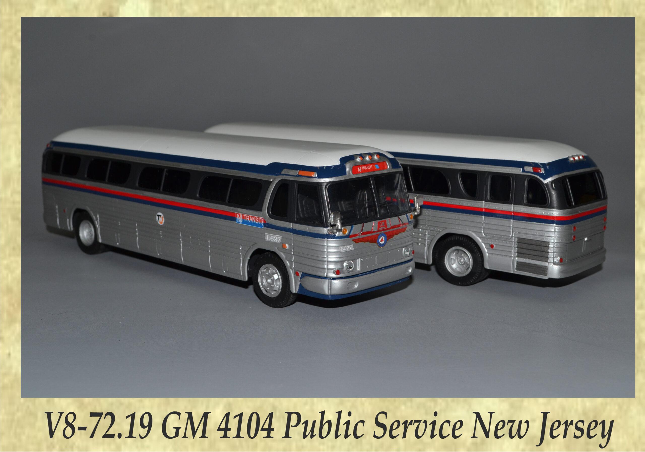 V8-72.19 GM 4104 Public Service New Jersey